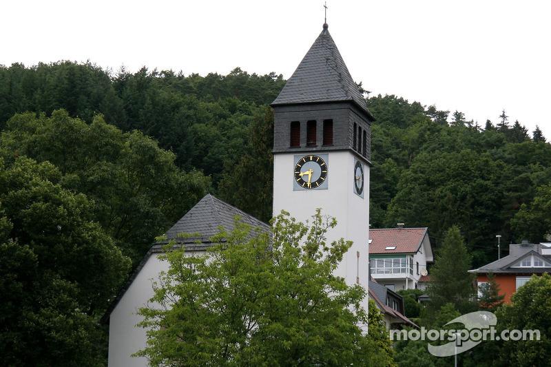 The town of Nürburg