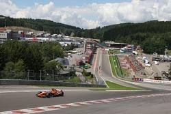 Eau Rouge, Giedo van der Garde, Test Driver, Spyker F1 Team