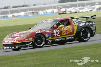 #42 Team Sahlen Corvette: Joe Sahlen, Will Nonnamaker
