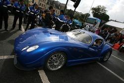 Supercars parade: a F&M Antas