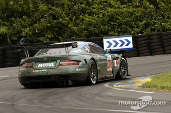 #008 Aston Martin Racing Larbre Aston Martin DBR9: Christophe Bouchut, Fabrizio Gollin, Casper Elgaard