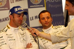 Post-race press conference: David Brabham, Darren Turner