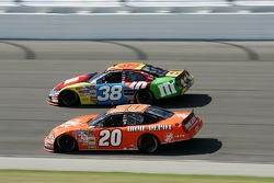 Tony Stewart and David Gilliland