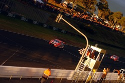 Todd Kelly takes the chequered flag