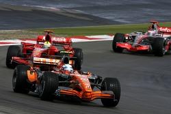 Markus Winkelhock, Spyker F1 Team, Felipe Massa, Scuderia Ferrari, Fernando Alonso, McLaren Mercedes