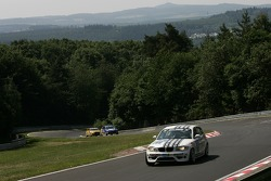 #268 Dörr Motorsport BMW 120d: Heiko Hahn, Tom Robson, Kristian Vetter, Gregor Vogler