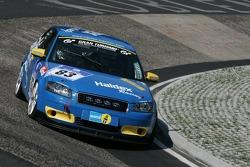 #83 Audi A3 Turbo: Franz Rohr, Gunnar Dackevall, Tom Nack