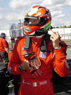 Gianmaria Bruni readies to go