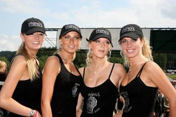The Rhino's girls