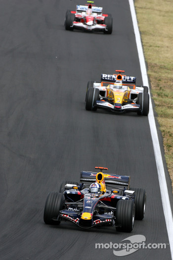 David Coulthard, Red Bull Racing, Giancarlo Fisichella, Renault F1 Team