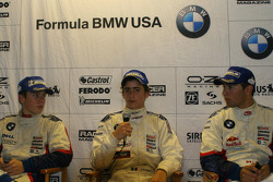 Adrien Tambay, Esteban Guterriez and Daniel Morad