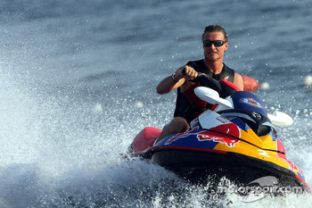 David Coulthard, Red Bull Racing at the Red Bull Aqua Battle