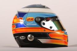 Daniel Ricciardo, driver of A1 Team Australia, helmet