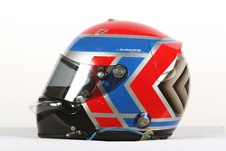 Raphael Matos, driver of A1 Team Brazil, helmet