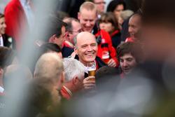 Dr. Wolfgang Ullrich celebrates