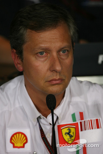 FIA press conference: Mario Almondo, Scuderia Ferrari, Technical Director