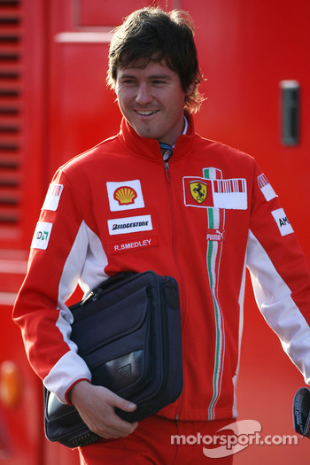 Rob Smedly, Scuderia Ferrari, Track Engineer of Felipe Massa