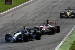 Alexander Wurz, Williams F1 Team, Anthony Davidson, Super Aguri F1 Team