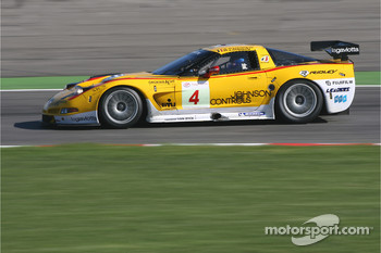 #4 PK Carsport Corvette C5R: Anthony Kumpen, Bert Longin