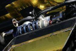 Suspension detail of the Krohn Racing Pontiac Riley