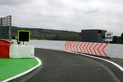 Spa-Francorchamps track walk: changes to the pit entry