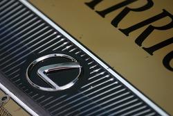 Detail of the AIM Autosport Lexus Riley