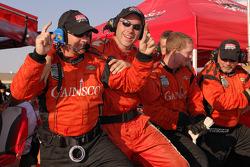 Gainsco/ Bob Stallings Racing team members celebrate