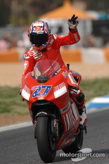 Third place Casey Stoner