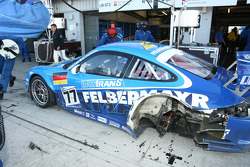 Trouble for #77 Team Felbermayr Proton Porsche 997 GT3 RSR: Marc Lieb, Xavier Pompidou