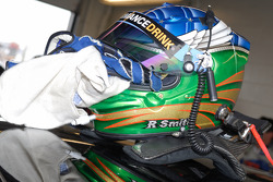 The helmet belonging to TRG Porsche driver Ross Smith