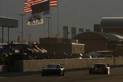 #56 Beachman Racing Corvette: Bruce Beachman, Michael Fitzgerald, Mark McClure, #12 RVO Motorsports Pontiac Riley: Roger Schramm, Justin Bell, Bill Lester
