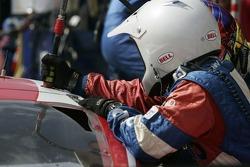 Pitstop for #11 SAMAX Pontiac Riley: Kris Szekeres, Tomas Enge, Ryan Dalziel