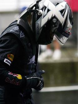 David Coulthard finishes fourth