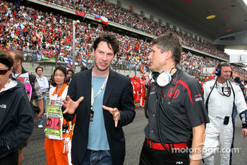 Nick Fry, Honda Racing F1 Team, Chief Executive Officer, Keanu Reeves, Actor