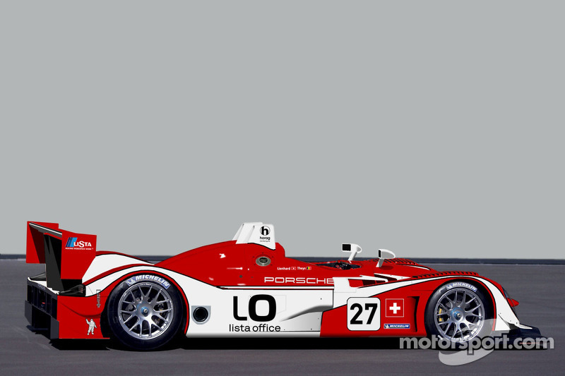 Rendering of new Lista Office Porsche Spyder