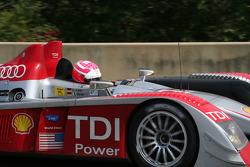 #2 Audi Sport North America Audi R10 TDI Power: Lucas Luhr, Marco Werner