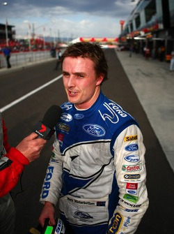 Mark Winterbottom celebrating