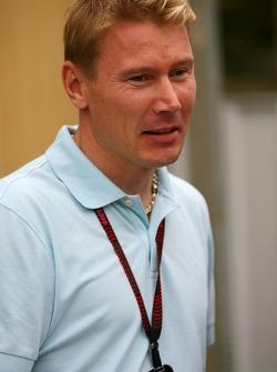 Mika Hakkinen, Former Formula One world champion