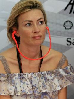 Ingrid, Loris Capirossi's wife