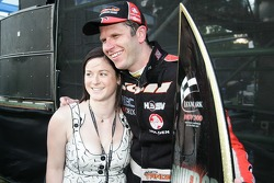Garth Tander and Leanne Tander (Toll HSV Dealer Team Commodore VE)