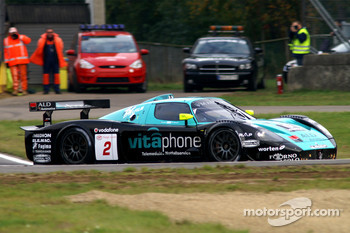 #2 Vitaphone Racing Team Maserati MC 12: Miguel Ramos, Christian Montanari