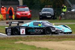 #2 Vitaphone Racing Team Maserati MC 12: Miguel Ramos, Christian Montanari
