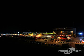 Mugello circuit at night