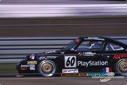 #60 Porsche 911 GT2: Jean-Pierre Jarier, Carl Rosenblad, Robin Donovan
