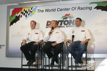 Stevenson Racing press conference