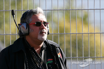 Dr Vijay Mallya, Force India F1 Team