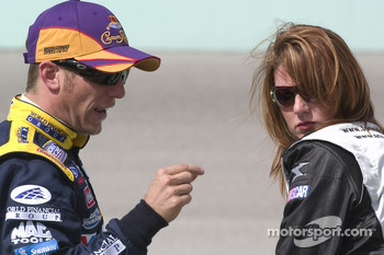 Jamie McMurray and Jennifer Jo Cobb