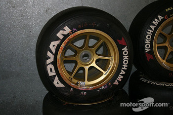 Brendon Hartley had been using his tyres hard