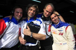 Michael Schneider, James Robinson, Max Welti and Neel Jani, A1 Team Switzerland