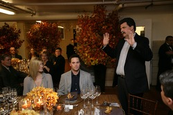 Jimmie Johnson the 2007 NASCAR Nextel Cup Series Champion attends a Private Champions Dinner at the Waldorf Astoria Hotel
